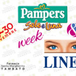 Pampers sole e luna week + lines week